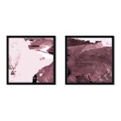 Sada 2 zarámovaných plakátů Insigne Irvine,50x50cm