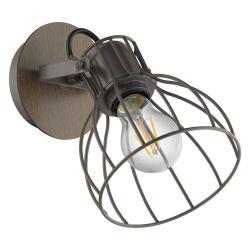 EGLO Sambatello nástěnné světlo, tvar klece, 1 zdroj