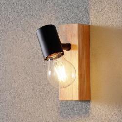 EGLO Townshend 3 nástěnné svítidlo s dřevěným prvkem