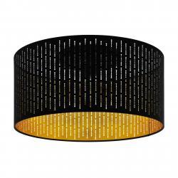 EGLO Varillas stropní svítidlo, černá/zlatá