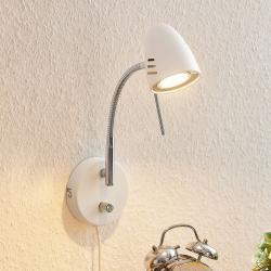 Lindby Lindby Heyko LED nástěnné světlo, stmívatelné