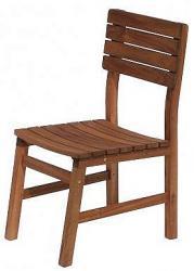 DEOKORK Zahradní židle pevná GLASGOW