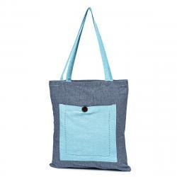 Trade Concept Nákupní taška Heda modrá, 40 x 45 cm