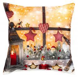 Forbyt Vánoční povlak na polštářek Lucerna, 40 x 40 cm