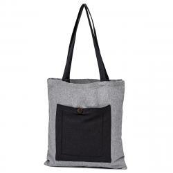 Trade Concept Nákupní taška Heda šedá, 40 x 45 cm