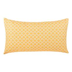 Žlutý venkovní polštář Monobeli Lizatto Yellow, 40 x 70 cm