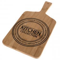 Servírovací bambusové prkénko Kitchen, 40 x 20 x 1,5 cm