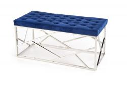 Halmar MILAGRO bench, color: dark blue