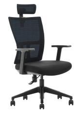 ADK TRADE Modrá kancelářská židle ADK Mercury Plus, síťovina/tkanina