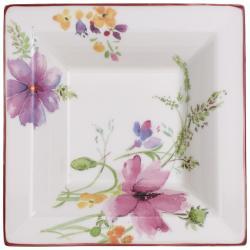 Hranatá porcelánová miska s motivem květin Villeroy & Boch Mariefleur Gifts