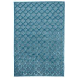 Modrý koberec z viskózy Mint Rugs Bryon, 120 x 170 cm