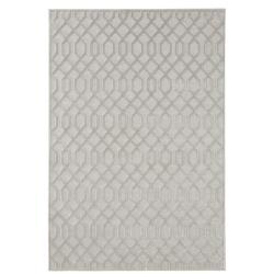 Šedý koberec z viskózy Mint Rugs Caine, 160 x 230 cm