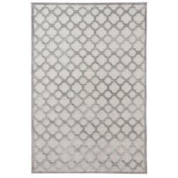 Šedý koberec z viskózy Mint Rugs Bryon, 80 x 125 cm