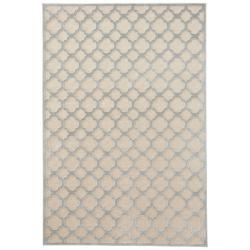 Krémový koberec z viskózy Mint Rugs Bryon, 80 x 125 cm