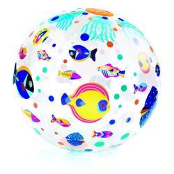 Dětský nafukovací míč Djeco Rybičky