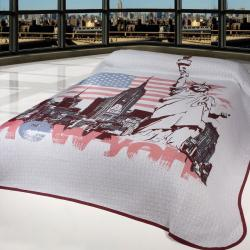 Forbyt Přehoz na postel New York, 140 x 220 cm