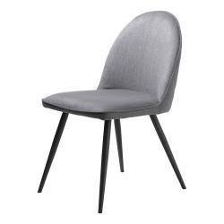 Šedá jídelní židle Unique Furniture Minto