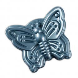 Forma na bábovku Nordic Ware Motýl, modrá, 2 l