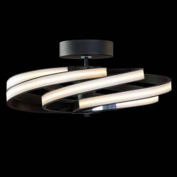 Lis Poland Zoya - moderní stropní svítidlo LED, černé