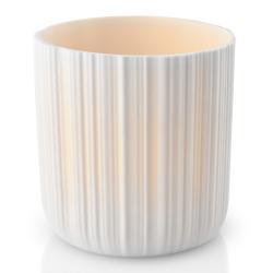 Eva Solo Porcelánový svícen malý včetně LED svíčky