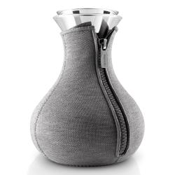 Eva Solo Čajovar Tea maker 1,0 l šedý s potahem v kombinaci neopren a vlna