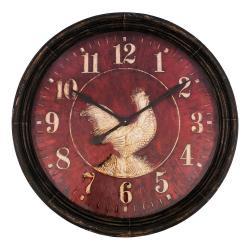 Nástěnné hodiny Antic Line Coq,ø90cm