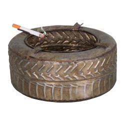 Popelník ze zinku Antic Line Pneu,ø 18,5cm