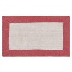 Trade Concept Prostírání Heda béžová / červená, 30 x 50 cm