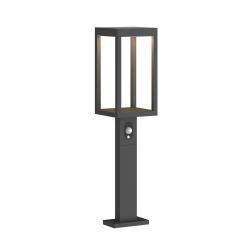 Lucande Lucande Qimka LED solární světlo na soklu, senzor