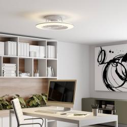 Arcchio Arcchio Fenio LED stropní ventilátor, světlo, bílá