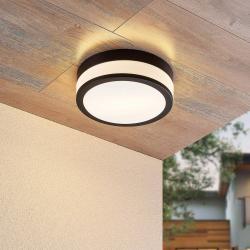 Lindby Lindby Flavi koupelnové stropní světlo, Ø 28 cm