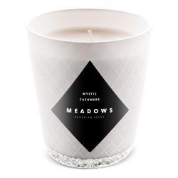 Meadows Vonná svíčka Mystic Cashmere mini bílá vůně mystického orientu
