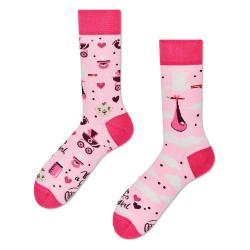 Ponožky Many Mornings It's a Girl,vel.35–38