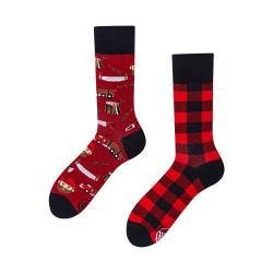 Ponožky Many Mornings Lumberjack Life,vel.43-46