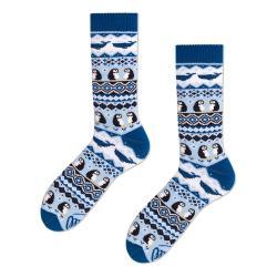 Ponožky Many Mornings Ice Pinguin,vel.35–38