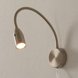 FISCHER & HONSEL LED-nástěnné světlo Sten ovládání gesty kulaté