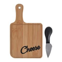 DekorStyle Deska na krájení Cheese + nůž