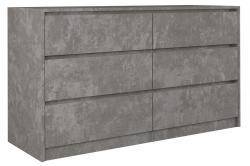 Shoptop Komoda KARO K140 beton