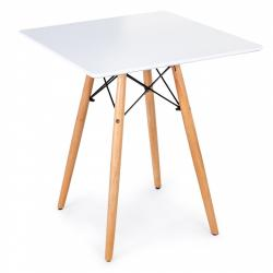 MODERNHOME Konferenční stolek 60 cm TRAZO bílý