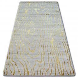 3kraft Kusový koberec MANYAS Egia krémovo-zlatý