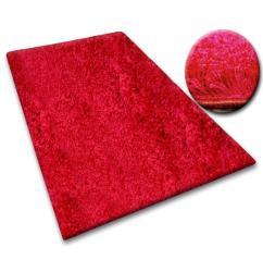 3kraft Kusový koberec SHAGGY Izebelie 5cm bordó