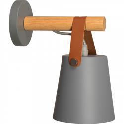 TooLight Nástěnná lampa AMELIA šedá