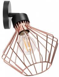 TooLight Nástěnná lampa Eira růžově zlatá/černá