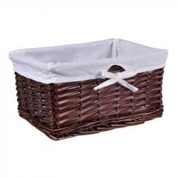 TZB Proutěný košík 30x20x15 - hnědý