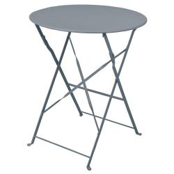 DekorStyle Skládací stolek PUESTA šedý