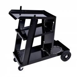 TZB Svařečský vozík se 3 policemi Hemy černý