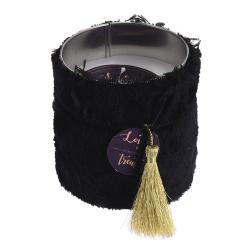 DekorStyle Svíčka GLAMOUR 10 cm černá