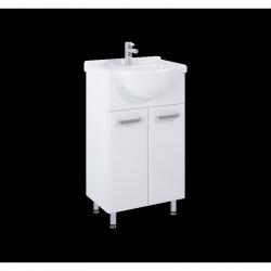 Umyvadlová skříňka s umyvadlem ELITA AMIGO 50 2D bílá