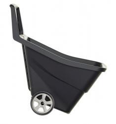 PlasticFuture Zahradní vozík CECILIA 95 L černý