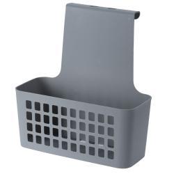 DekorStyle Závěsný košík šedý